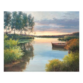 Fading Light Canvas Wall Art