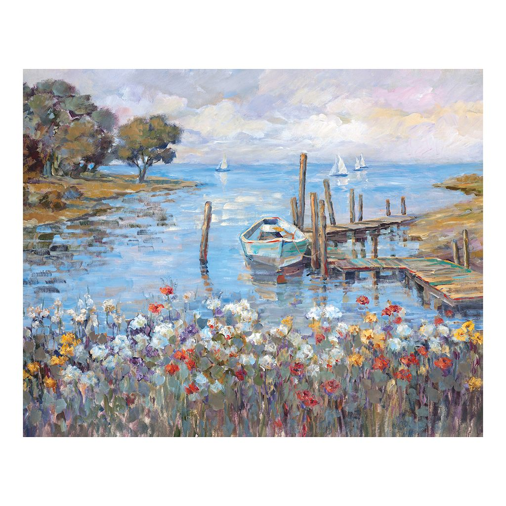 Meadow Dock Canvas Wall Art