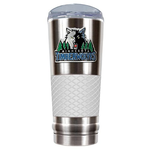 Minnesota Timberwolves 24-Ounce Draft Stainless Steel Tumbler