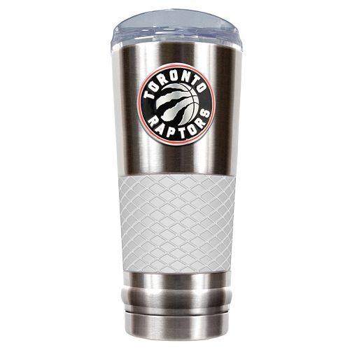 Toronto Raptors 24-Ounce Draft Stainless Steel Tumbler