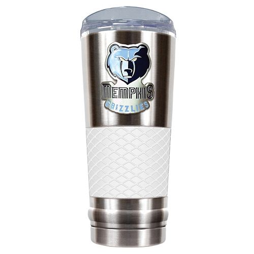 Memphis Grizzlies 24-Ounce Draft Stainless Steel Tumbler