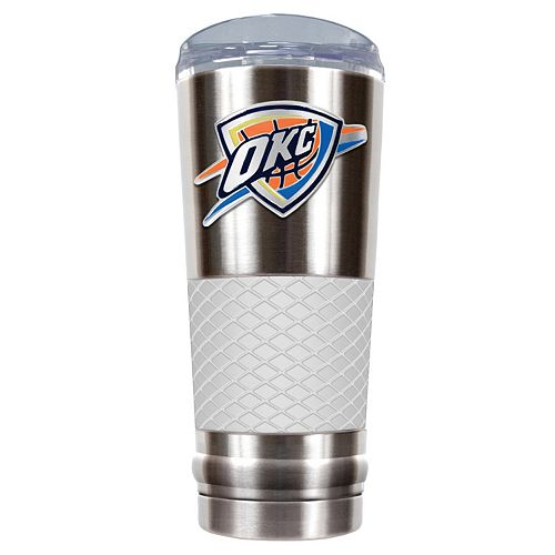 Oklahoma City Thunder 24-Ounce Draft Stainless Steel Tumbler
