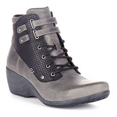 Rocky 4EurSole Concerto Women's Waterproof Wedge Ankle Boots