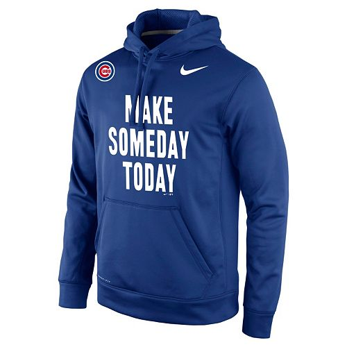 pretty nice 07e4b f2765 Men's Nike Chicago Cubs Make Someday Today Dri-FIT Hoodie