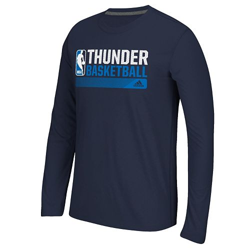 best sneakers c8174 a23f6 Men's adidas Oklahoma City Thunder Icon Status climacool Tee
