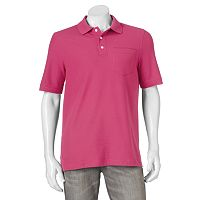 Men's Croft & Barrow® Performance Pocket Pique Polo