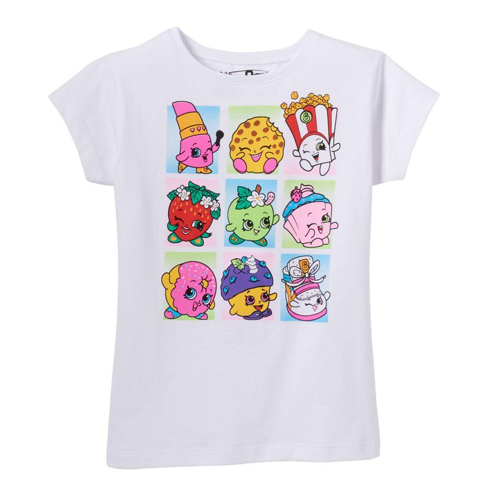 Girls 4-7 Shopkins D'Lish Donut, Kooky Cookie & Apple Blossom Graphic Tee