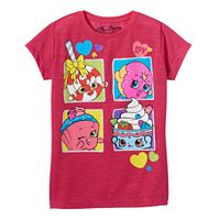 Girls 4-7 Shopkins D'lish Donut, Lolli Poppins & Cupcake Chic Graphic Tee