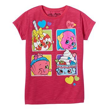 Girls 4-7 Shopkins D'lish Donut, Lolli Poppins & Cupcake Chic Graphic Tee