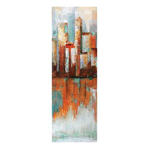 City Limits I Canvas Wall Art
