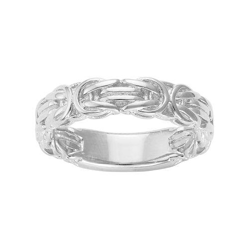 Sterling Silver Byzantine Ring