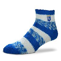 Women's For Bare Feet Kansas City Royals Pro Stripe Sleep Socks