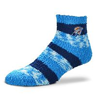 Women's For Bare Feet Oklahoma City Thunder Pro Stripe Sleep Socks