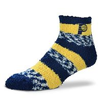 Women's For Bare Feet Indiana Pacers Pro Stripe Sleep Socks