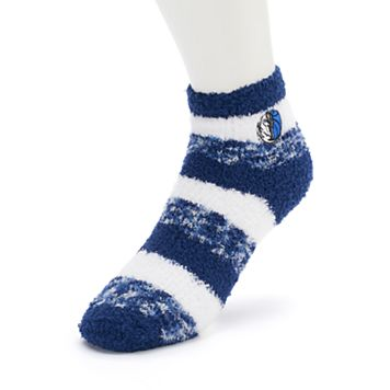 Women's For Bare Feet Dallas Mavericks Pro Stripe Sleep Socks