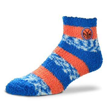 Women's For Bare Feet New York Knicks Pro Stripe Sleep Socks