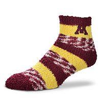 Women's For Bare Feet Minnesota Golden Gophers Pro Stripe Sleep Socks