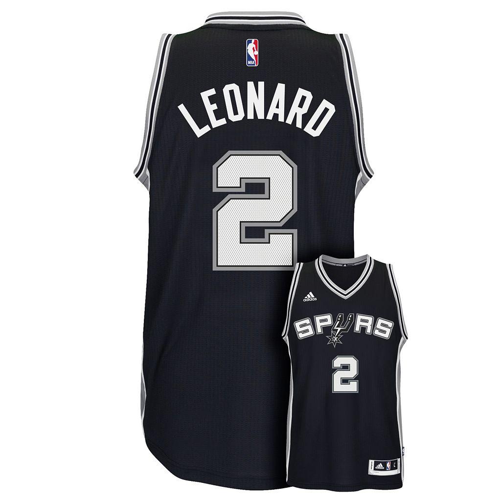 Men's adidas San Antonio Spurs Kawhi Leonard Swingman NBA Replica Jersey