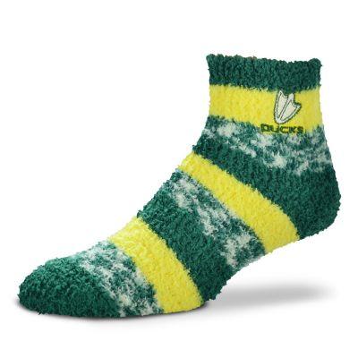 Women's For Bare Feet Oregon Ducks Pro Stripe Sleep Socks