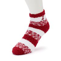Women's For Bare Feet Alabama Crimson Tide Pro Stripe Sleep Socks