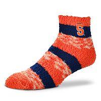 Women's For Bare Feet Syracuse Orange Pro Stripe Sleep Socks