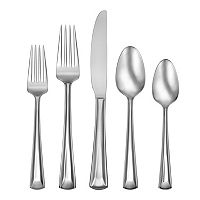 Oneida Cella 51 pc Flatware Set with Caddy
