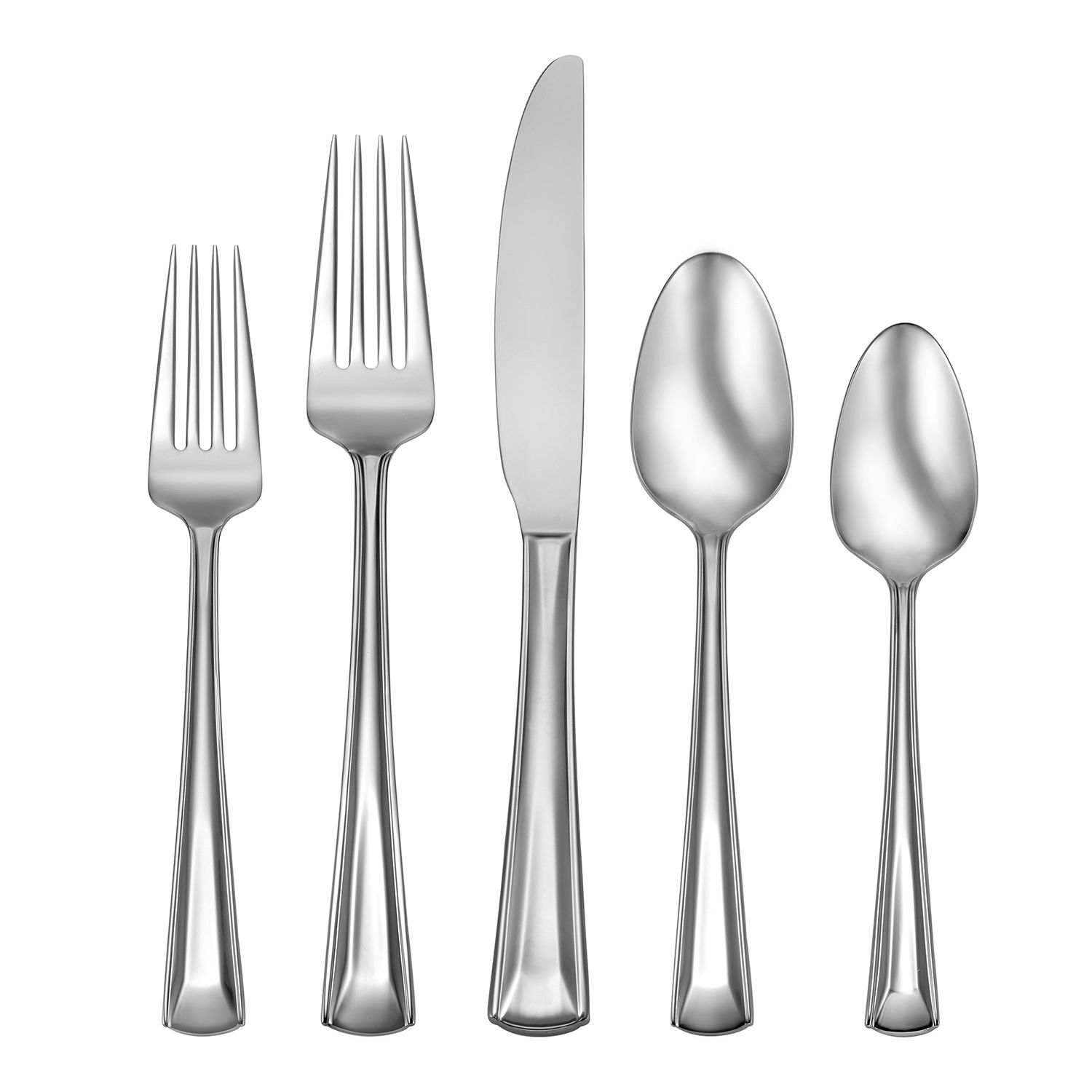 flatware set with caddy