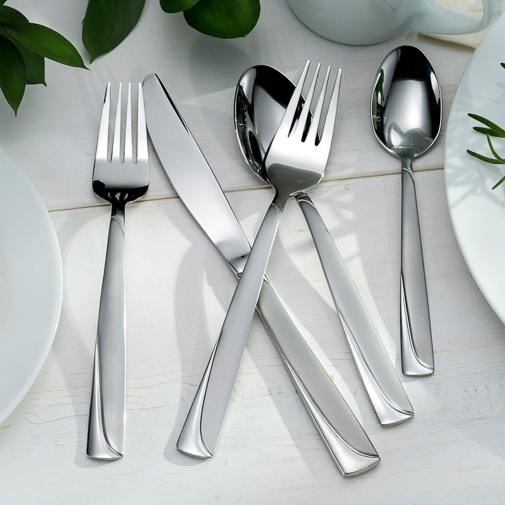 Oneida Madeline 51-pc. Flatware Set with Caddy