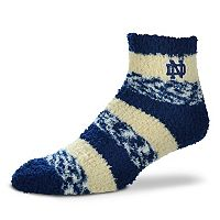 Women's For Bare Feet Notre Dame Fighting Irish Pro Stripe Sleep Socks