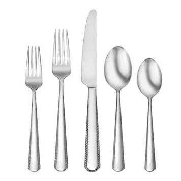 Oneida Gable 51-pc. Flatware Set with Caddy