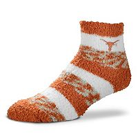 Women's For Bare Feet Texas Longhorns Pro Stripe Sleep Socks