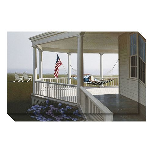 Morning (Porch) Canvas Wall Art