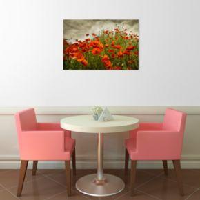 Bobbi's Poppies Canvas Wall Art