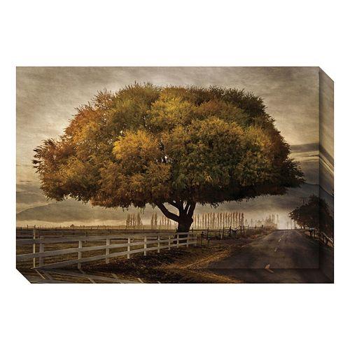 Autumnal Landscape Canvas Wall Art
