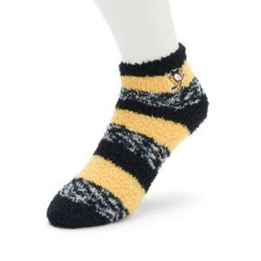 Women's For Bare Feet Pittsburgh Penguins Pro Stripe Sleep Socks