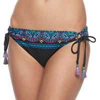 Women's Apt. 9® Embroidered Hipster Bikini Bottoms