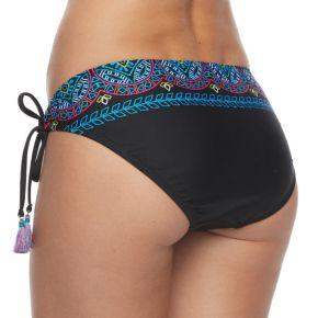 Women's Apt. 9® Embroidered Hipster Bikini Bottoms