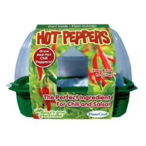 Dunecraft Sprout 'n Grow Greenhouse Hot Peppers