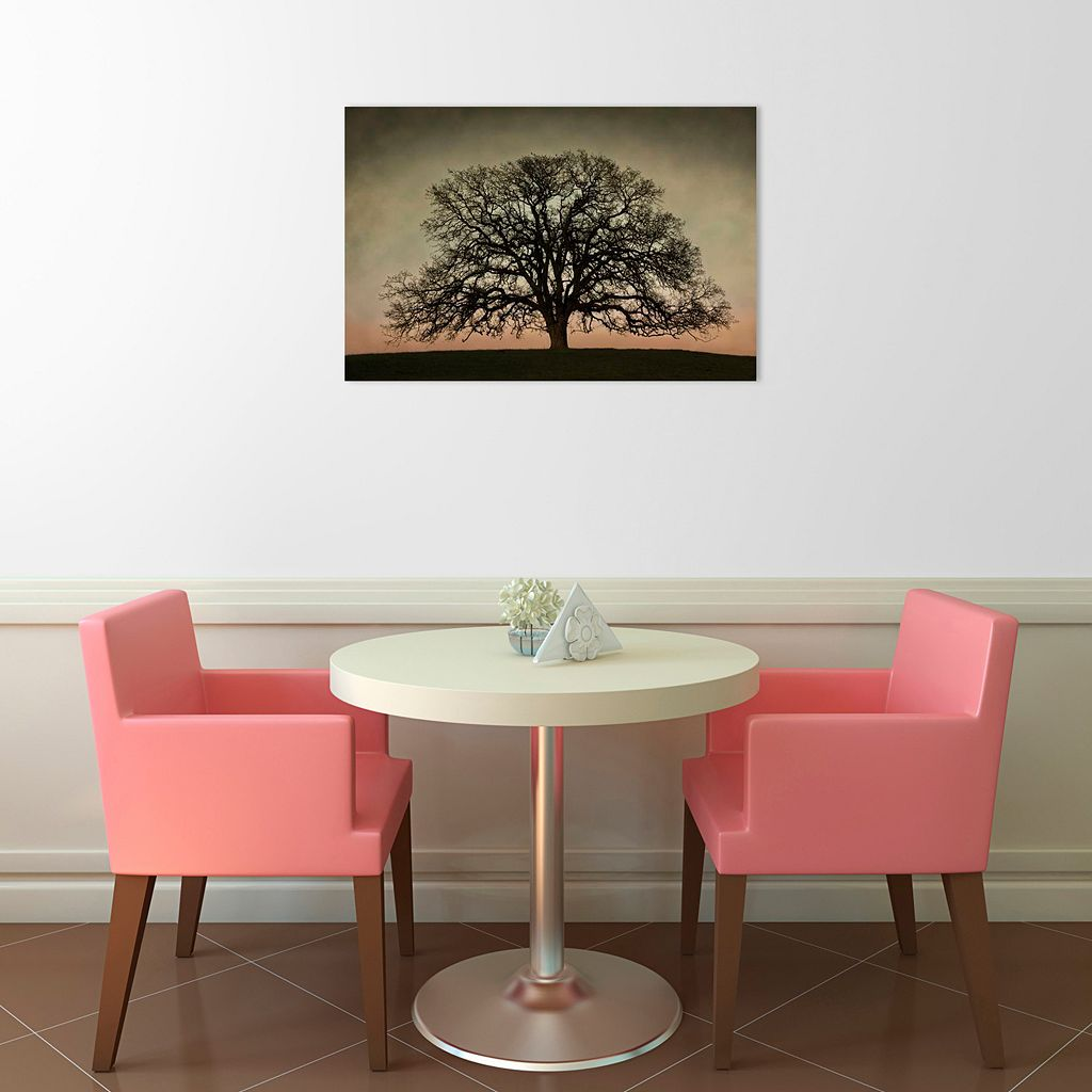 Majestic Oak Canvas Wall Art
