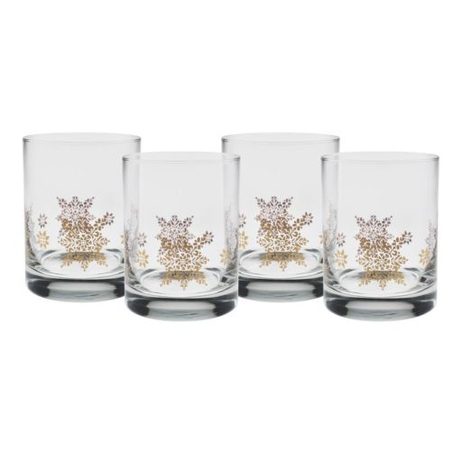 Culver Resplendent 4-pc. Double Old-Fashioned Glass Set