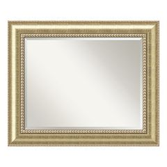 Amanti Art Astoria Champagne Large Wall Mirror