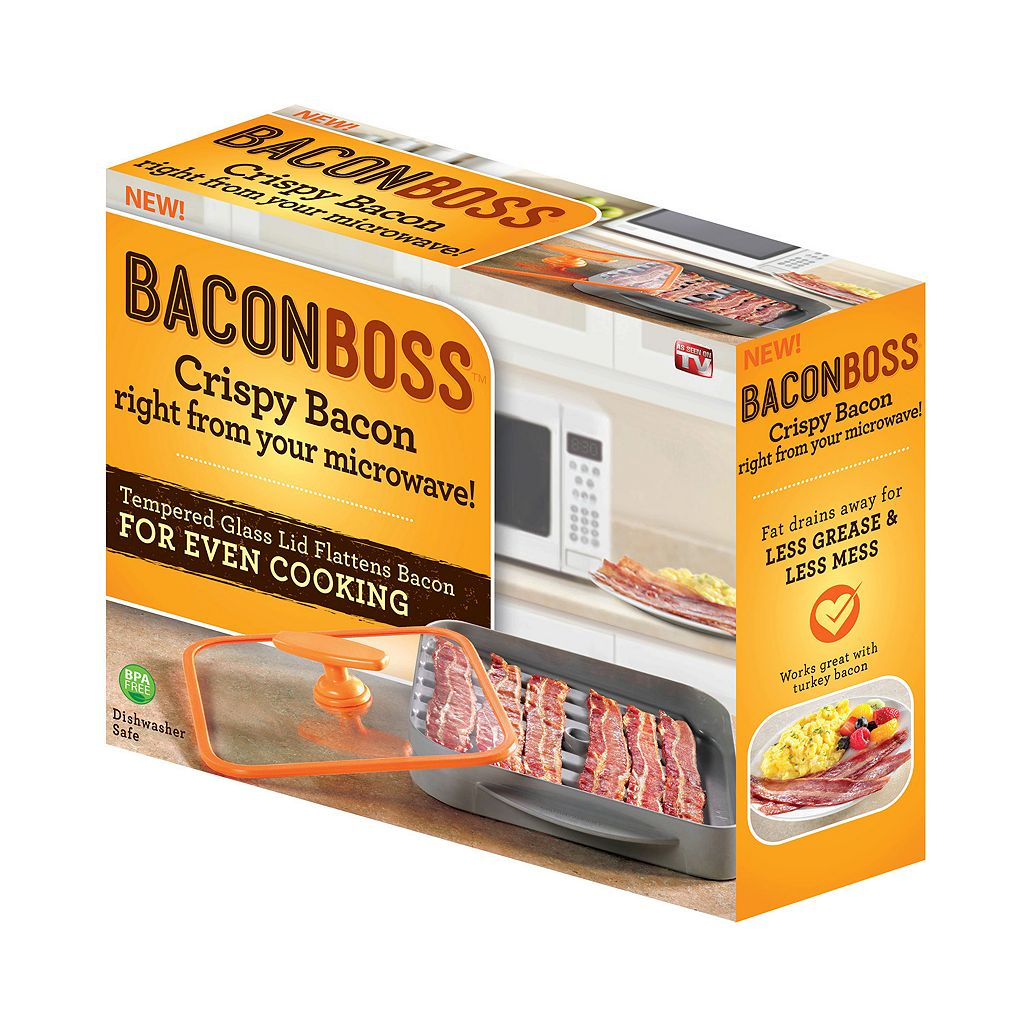As Seen on TV Bacon Boss Microwave Cooker