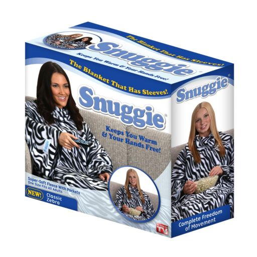 As Seen on TV Zebra Snuggie