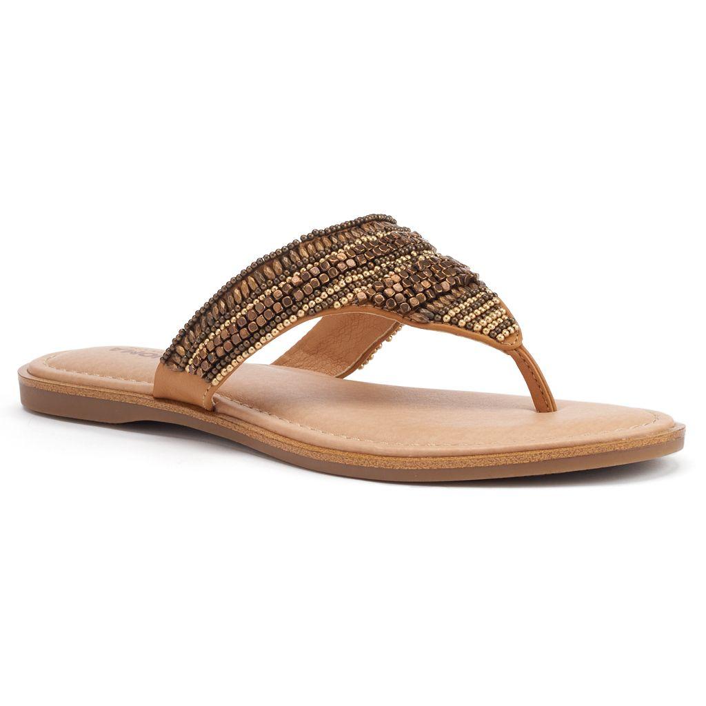 SONOMA Goods for Life™ Women's Beaded Thong Sandals