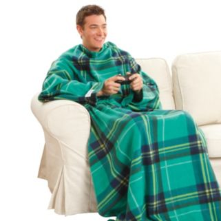 As Seen on TV Green & Black Checkered Snuggie