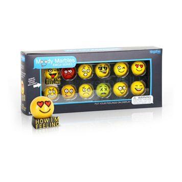 MegaFun USA Moody Marbles Emoji Set Series 1