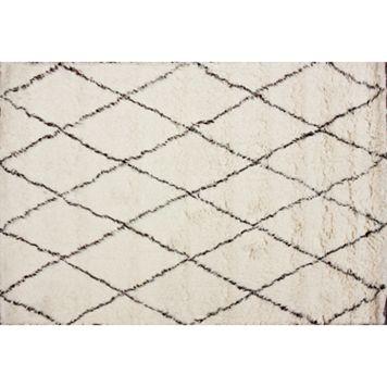 nuLOOM Marbella Aklim Shag Wool Rug
