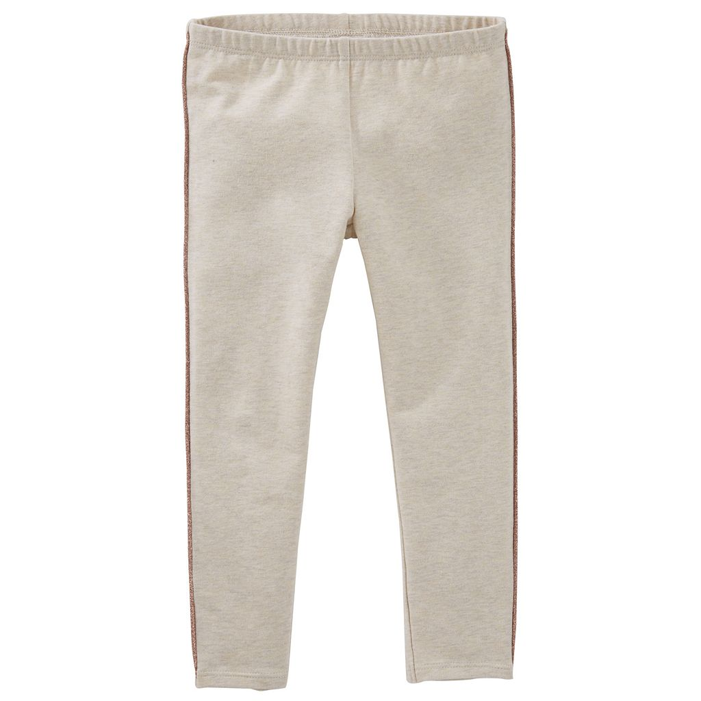 Girls 4-6x OshKosh B'gosh® Glitter Side-Stripe Leggings