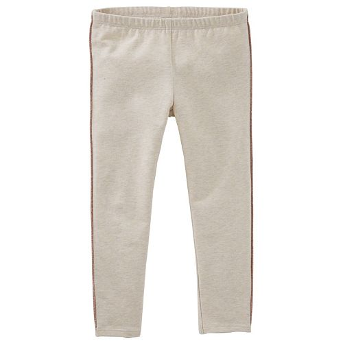 Girls 4-6x OshKosh B'gosh® Glitter Side-Stripe Leggings