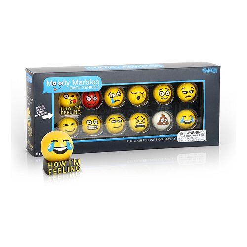 MegaFun USA Moody Marbles Emoji Set Series 2